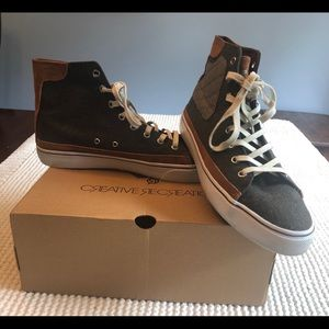 Gently Worn Creative Recreation Kaplan High Tops